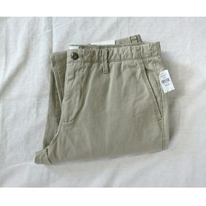 GAP Work Career Uniform Pants Khaki Chino 34 x 34